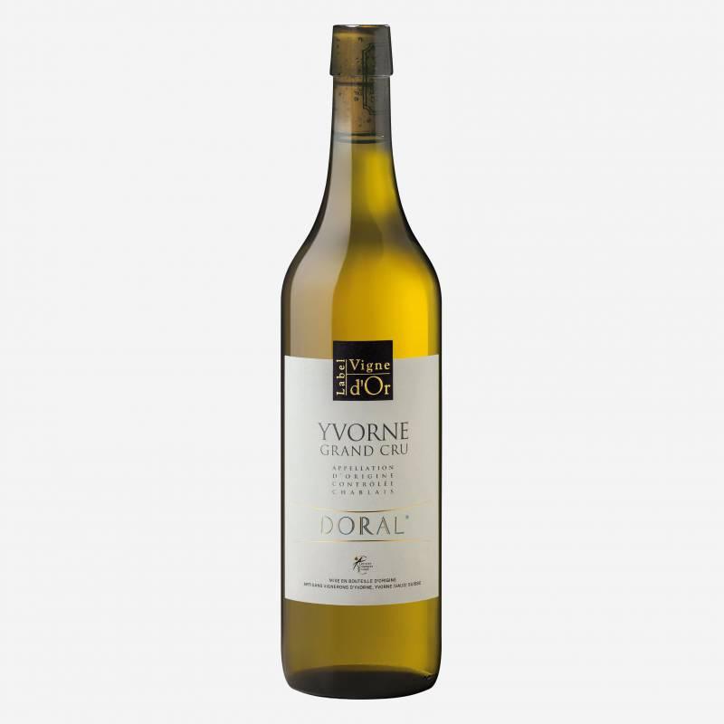 """Yvorne Label Vigne d'Or """"DORAL"""" Chablais AOC"""